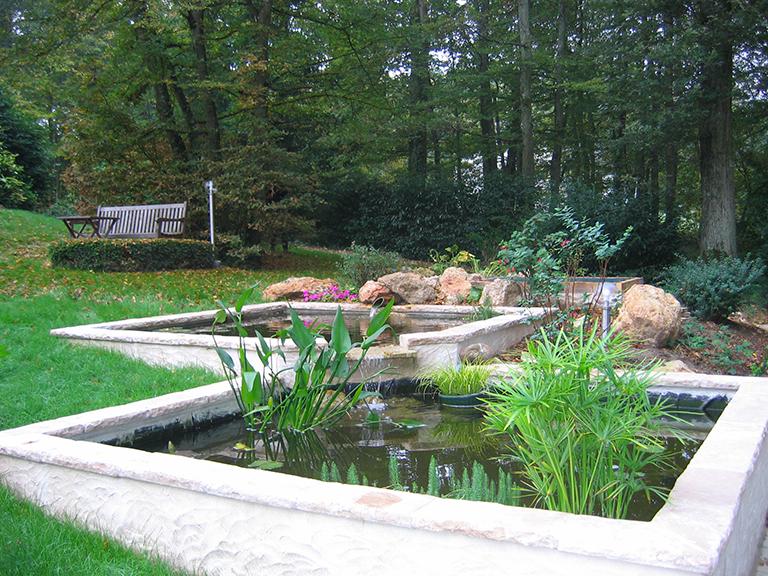Aménagement jardin design Montargis Amilly
