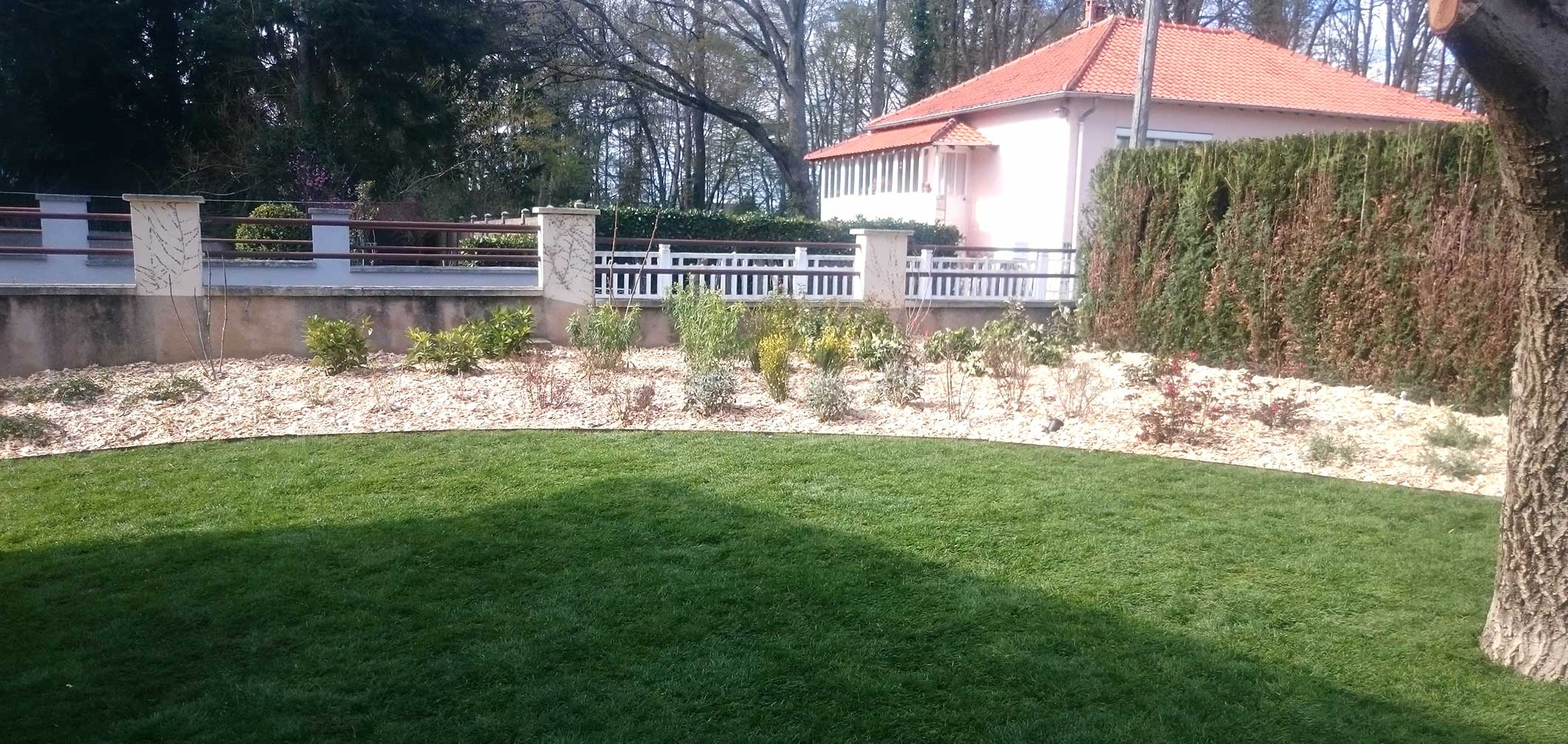 Jardin plantation sauvegrain paysage for Plantation jardin