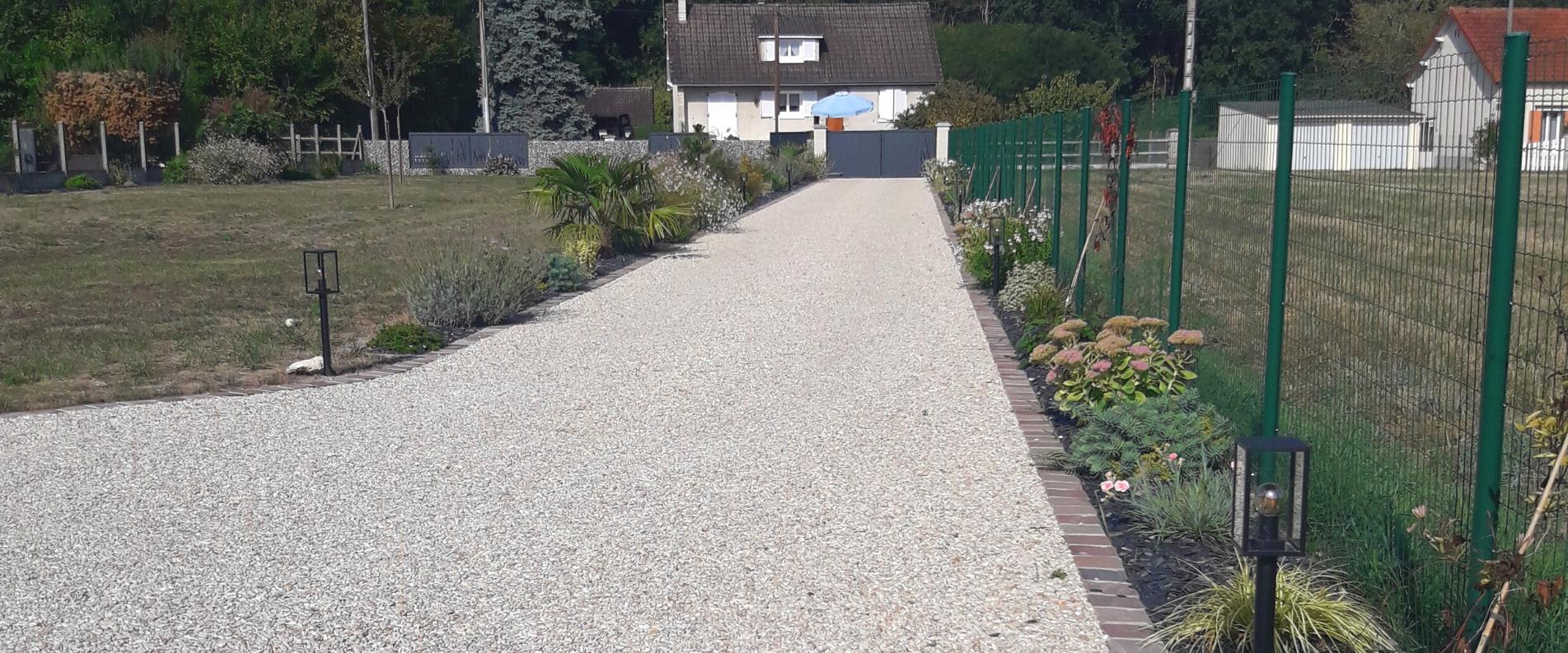 Réalisation d'une clôture pour votre jardin