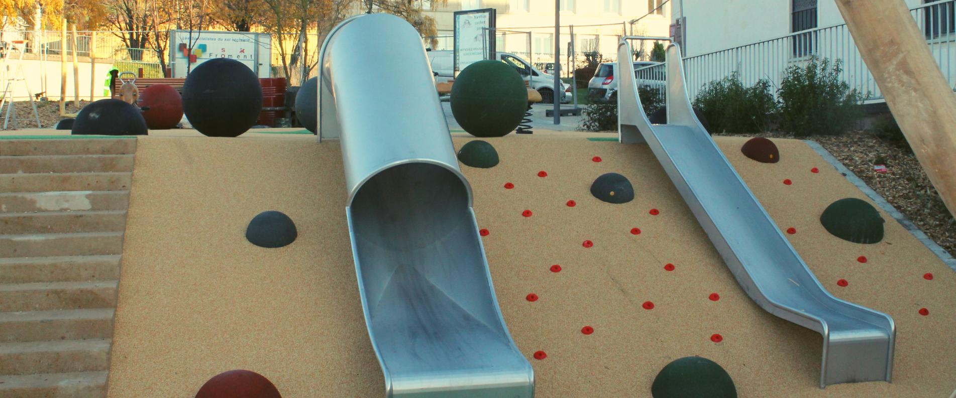 Sauvegrain crée des aires de jeux en ville