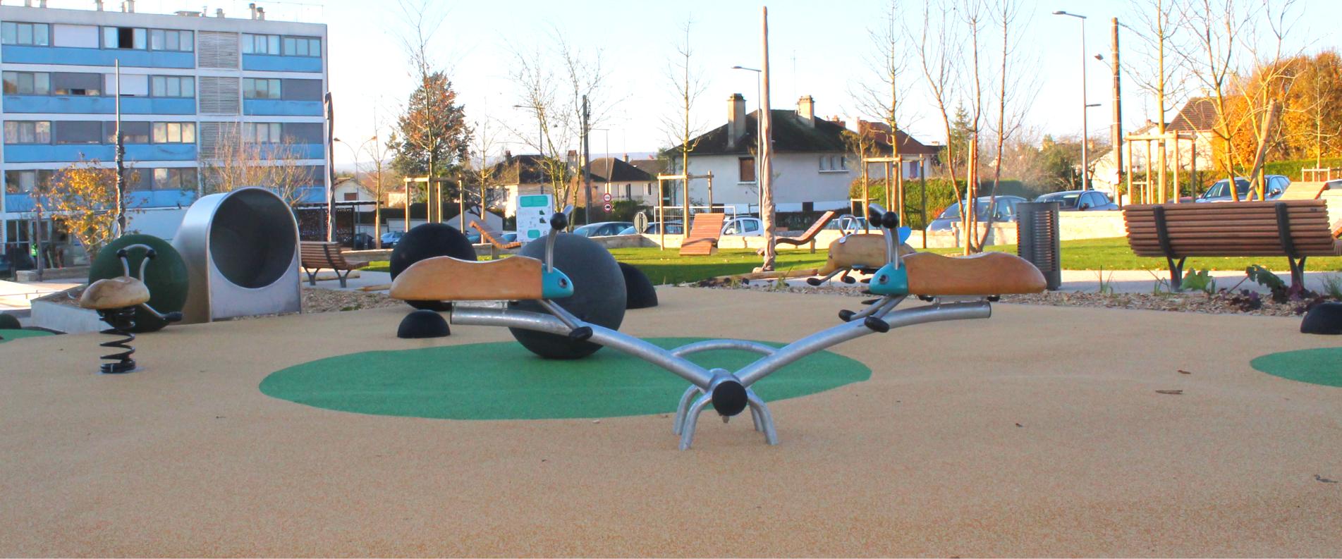 Conception d'aires de jeux pour les collectivités