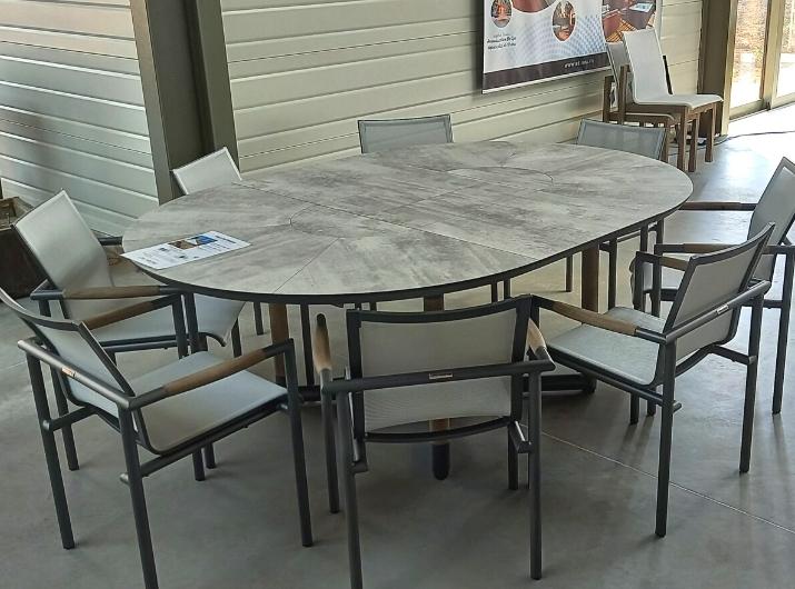 Table de jardin Bastinage